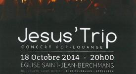 Jesus Trip en concert gratuit à Bruxelles