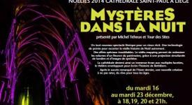 La cathédrale de Liège en mode mystérieux