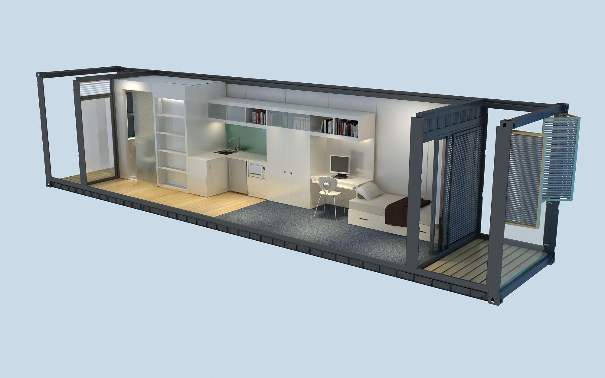 Faire Construire Une Maison Container accueillir papy ou mamie dans une maison conteneur