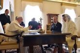 Le pape reçoit les souverains belges