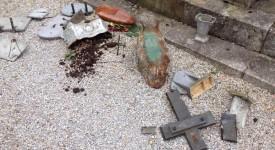 France – Des tombes chrétiennes profanées