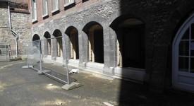 La Chapelle du Séminaire de Tournai en rénovation