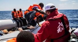 MSF a secouru près de 12.000 migrants en Méditerranée