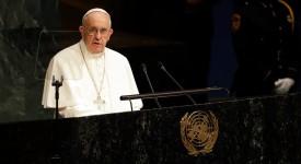 Devant l'ONU, le pape invite à la «sauvegarde de la maison commune»