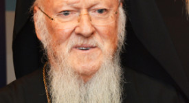Le pape François envoie un message au patriarche Bartholomée