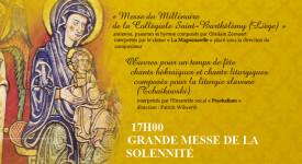 Liège fête les Rois à l'église du Saint-Sacrement
