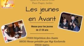 Jeunes En Avant, le rendez-vous annuel pour les 17-35 ans à Bruxelles