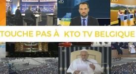 Non à l'arrêt de KTO TV en Belgique !
