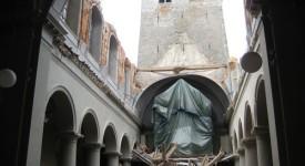 Collégiale de Ciney : les travaux de reconstruction démarrent