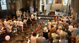 La messe des artistes à Herve: l'art, un appel à la vie