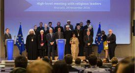 Les hauts dignitaires religieux dialoguent avec l'Union européenne