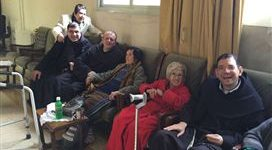 Un franciscain de Terre sainte en Syrie