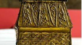 La châsse d'Andenne exposée à Paris