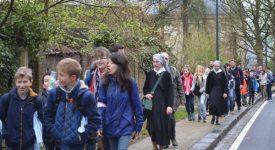 Namur-Malonne: les marcheurs avaient »la pêche»!