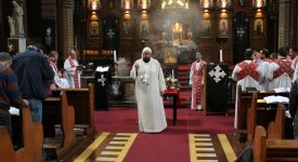 Eglise copte: Tawadros II a dit sa satisfaction quant au voyage papal en Egypte