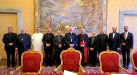 Le pape a reçu la COMECE pour la première fois