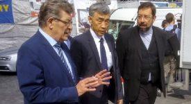 L'ambassadeur de Chine en visite à la cathédrale