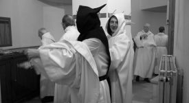 "Exposition photographique "" Moine Trappiste"" - Abbaye de Rochefort ©Guy-Focant"