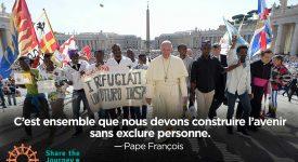Migrants : le pape François soutient Caritas