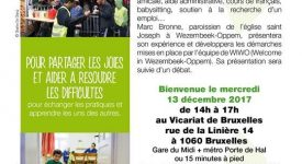 Bruxelles  – S'engager dans l'accueil des réfugiés en paroisse