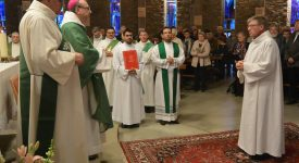 Namur: Ordination d'un nouveau diacre permanent