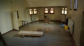 Les travaux de rénovation ont débuté à l'église des Oblats, à Jambes