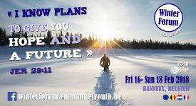 Winter Forum 2018 : «Je te donne un avenir et une espérance»