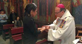 Namur: Jessica, 28 ans, future infirmière, sera baptisée à Pâques