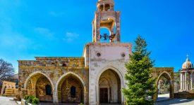 Liban – Premier monument dédié au pape François au Proche Orient