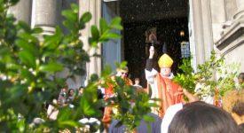 Namur – Mgr Vancottem rend hommage à Arnaud Beltrame
