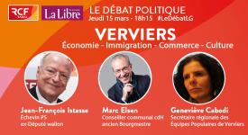 «Le débat politique» ce jeudi 15 mars à 18h15