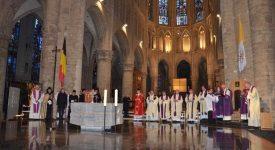 Célébration pour les cinq ans de pontificat du pape François