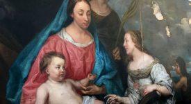 Le 'Mariage mystique de sainte Catherine' reprend des couleurs