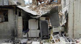 AED participe à la rénovation d'habitations à Homs