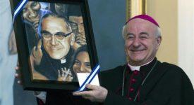 Mgr Paglia: «Le lieu de la canonisation de Mgr Romero n'est pas encore décidé»