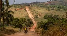 Voie sans issue à Luozi en RDC.