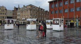 EXPO: portraits de civils bombardés