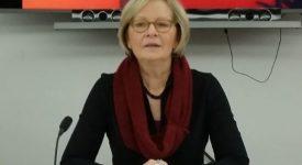 Josian Caproens, présidente du Forum européen des laïcs