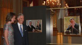 L'hommage pictural du roi Philippe à son oncle Baudouin