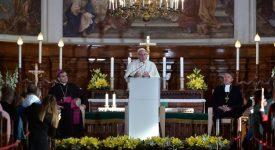 En Estonie, le pape invite les jeunes à annoncer le Christ