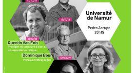 Grandes Conférences Namuroises : programme 2018-2019