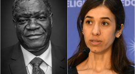 Prix Nobel de la paix: la lutte contre les violences faites aux femmes doublement distinguée
