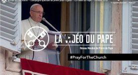 Vidéo – Le pape demande de prier pour l'Eglise