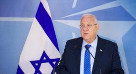 Rencontre entre le pape et le président israélien