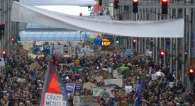 Marée verte à Bruxelles : «J'peux pas, j'ai climat !»