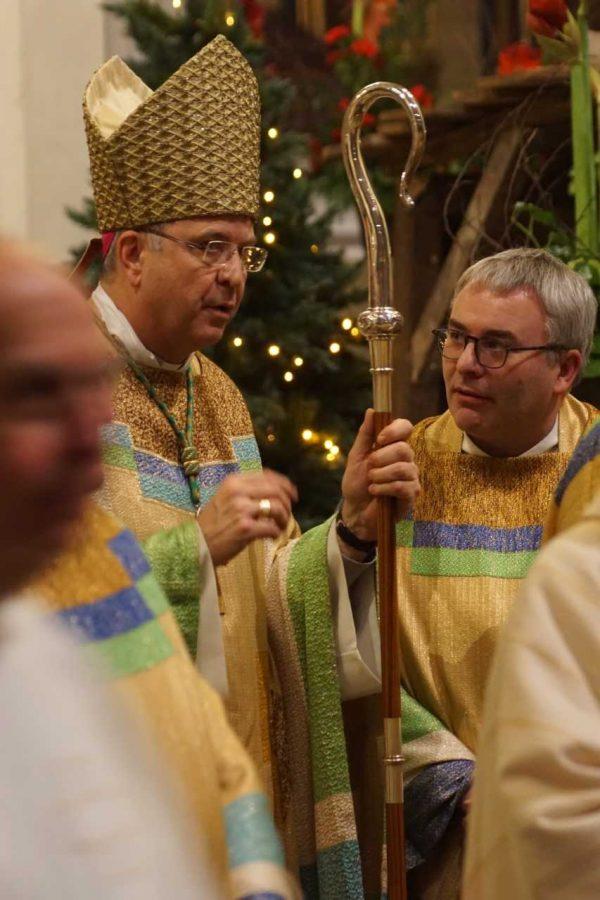 """Mgr Johan Bonny: """"Toujours recommencer en partant de Jésus"""""""
