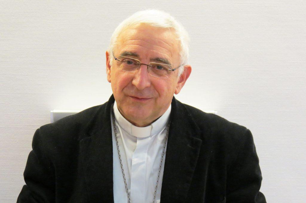 + Mgr Jean-Luc Hudsyn - Evêque référent pour les médias catholiques