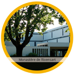 Vue du Monastère de l'Alliance à Rixensart