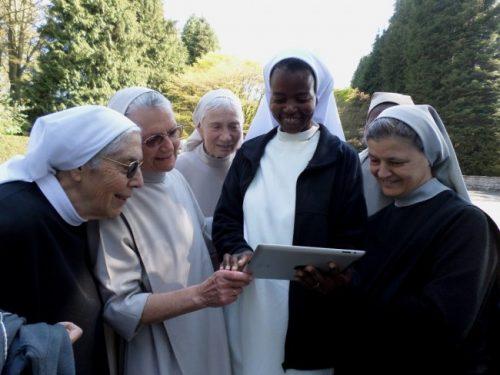 Sœurs religieuses du Monastère de l'Alliance à Rixensart