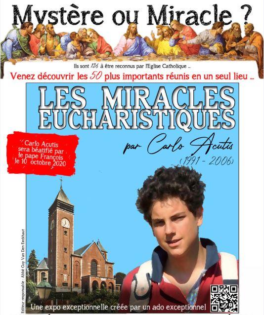 Les miracles eucharistiques par Carlo Acutis